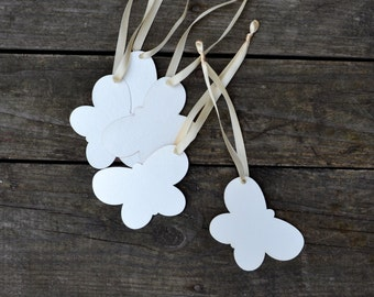 Wish wedding butterfly Tags Set of 50