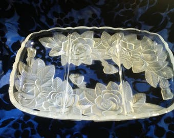 Home Beautiful Rose Pearl Divided Relish tray, WY001/345