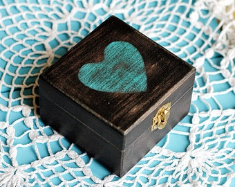 Rustic Engagement ring box, Proposal ring box,  Ring pillow box, wedding ring box, Ring Bearer Box, Wedding Ring Holder, Personalized Box