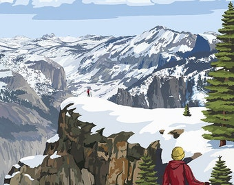Dewey Point - Yosemite National Park, California (Art Prints available in multiple sizes)