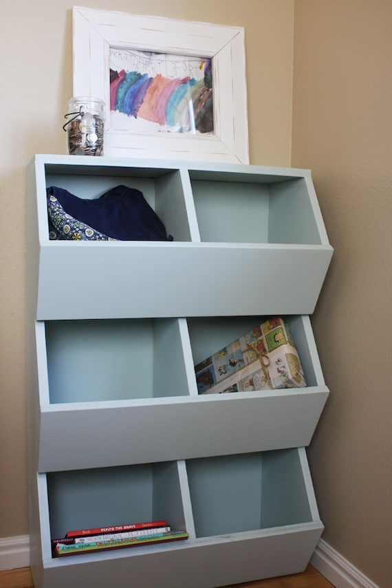 Playroom Craft Storage