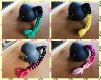 Helmet Braids Various Colors