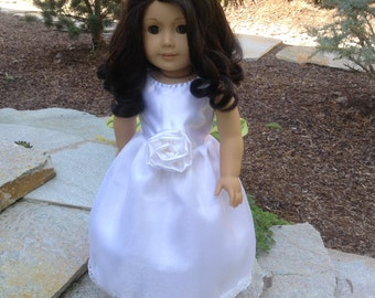 "18"" Doll Clothing/ 18"" American doll Clothing/White long dresses/Wedding dresses"