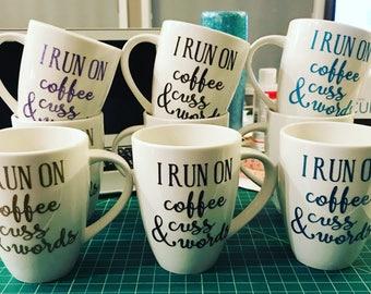 12oz Coffee Mugs ( Quainty 1 - 5 )