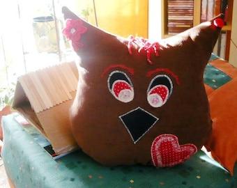 OWL pillow-large