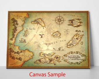 The Chronicles of Narnia, The Voyage of The Dawn Treader Map