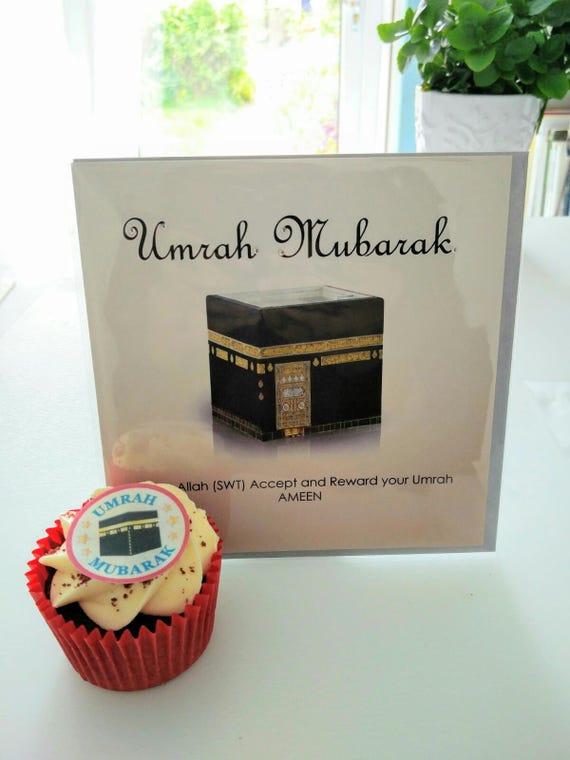 Umrah Banner: Umrah Mubarak Card / Umrah Mubarak Decorations / Umrah