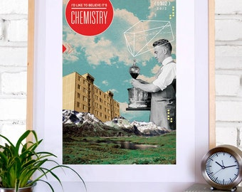 Chemistry: Collage Poster 11x17
