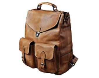 Genuine Leather Backpack, 16 Inch Laptop, Women Backpack, Men Backpack, Travel Backpack, College Backpack, School Backpack