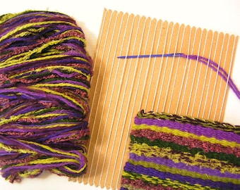 Learn to Weave kit in Heather Colourway