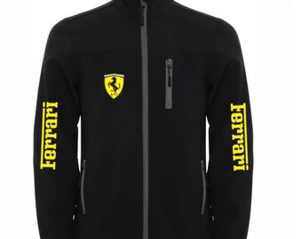 Ferrari Jacket Wind and Water Resistant Softshell