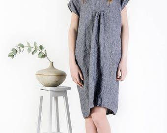Linen summer dress, Linen top, Washed linen dress, Linen dress, Day Dress, Linen sundress, Kimono dress, Sleeveless Dress Midi Dress