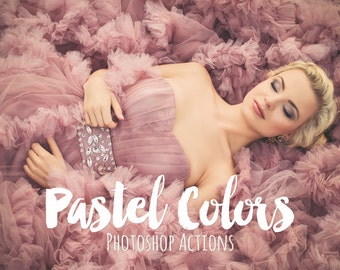 Pastel Photoshop Actions and Pastel Camera RAW presets Collection photographers pastel photoshop acr best Adobe Photoshop actions soft color