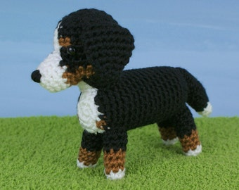 PDF AmiDogs Bernese Mountain Dog amigurumi dog CROCHET PATTERN