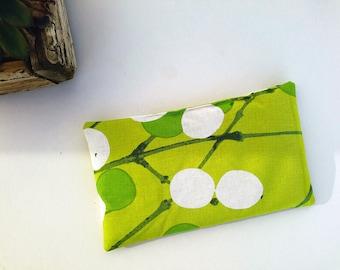 "Buckwheat Pillow - Savasana Pillow - Yoga Pillow - Flax Eye Pillow - Relaxation Pillow - Meditation Pillow - Marimekko Eye Pillow - 7.5 X 4"""