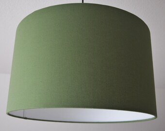 """Lampshade """"Olive green"""""""