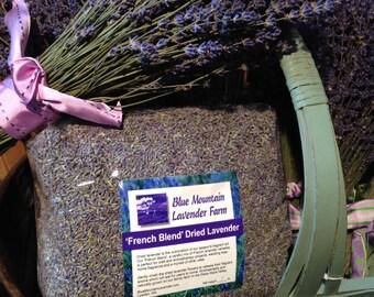 1 lb. French Blend Dried Lavender, 1 pound craft candles potpourri sachet