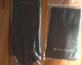 Bvlgari ring box gloss outside satin inside including outer