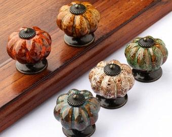2017 New Ceramic Knobs / Dresser Knob Drawer / Ceramic Knob / Cabinet Knobs  / Kitchen Door Knob Furniture Hardware Antique Bronze