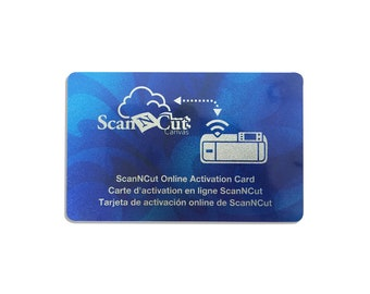 Brother ScanNCut 2 Online Activation Card