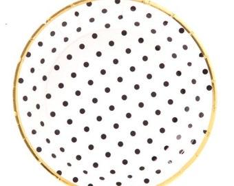 sc 1 st  Etsy & Gold dot plates | Etsy