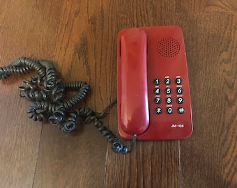 Vintage Jiangmen Red Telephone
