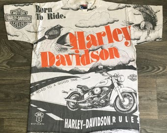 1984 T Shirt Motorcycle Weekend Laconia New Hampshire Vintage Tee in Black or Gray Large Store Stock NOS gH6rgiJsO
