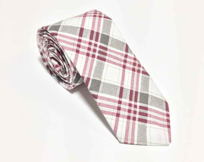"""They've Gone To Plaid"" Plaid Tie"