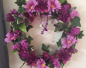 Passion pink wreath