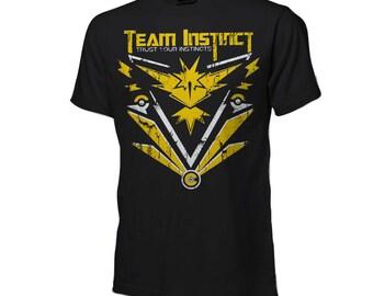 Pokemon Go - Team Instinct Shirt - Pokemon Shirt
