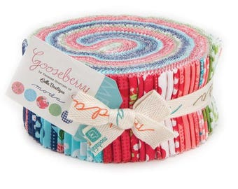 Gooseberry Jelly Roll - Lella Boutique - Moda - 5010JR