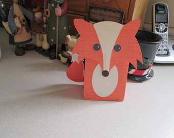 Fox Favor Box Set of 12 with Free Shipping