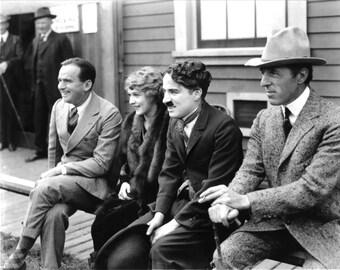 Douglas Fairbanks, Mary Pickford, Charlie Chaplin, and D. W. Griffith, 1919