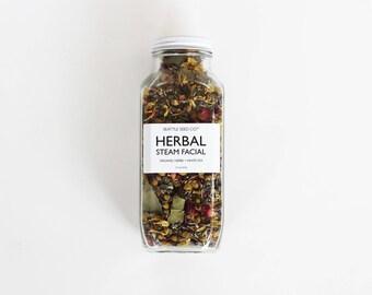 Organic Herbal Steam Facial Blend