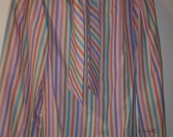 Retro Womens Striped Blouse by Paris Station