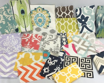 Fabric Swatches - FREE SHIPPING - LindezaDesigns