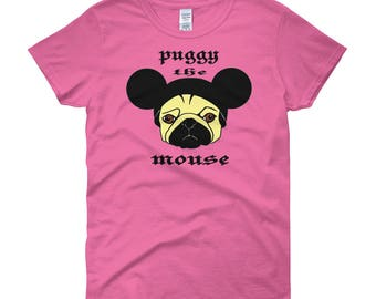 Puggy the Mouse women Shirt
