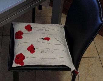 linen chair cushions