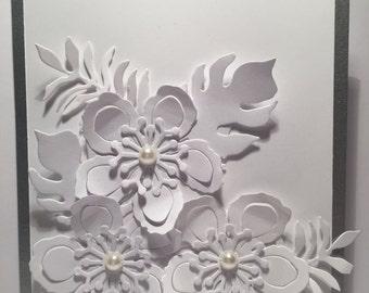 Wedding Card//Handmade Card