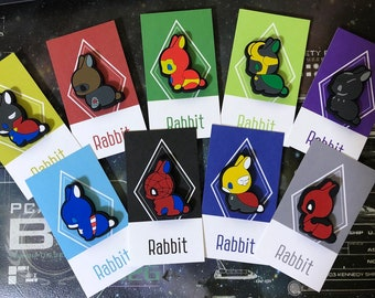 Marvel-rabbit magnet set