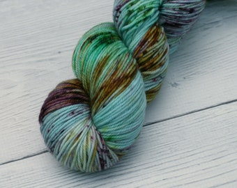 I Suspect the Nargels {Cult DK} 100% Superwash Merino - Hand Dyed - Speckled - Yarn - Harry Potter -  280 Yards - Ready to Ship