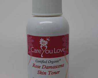 Certified Organic Rose damascena Toner