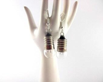 Bulbs of bicycle earrings