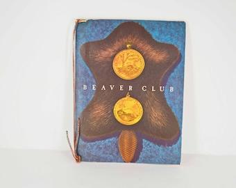 Beaver Club Menu Queen Elizabeth Hotel Fairmont