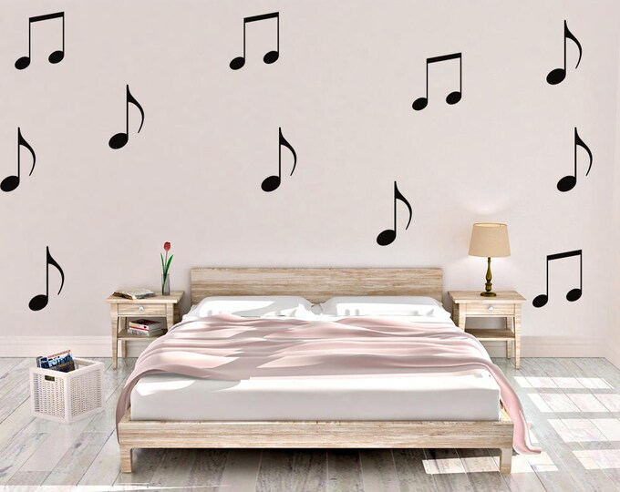 Music Notes Wall Decal - Music Wall Decal - Vinyl Wall Decal - Music Notes - Music - Decal -Music Wall Decor - Music Home Decor