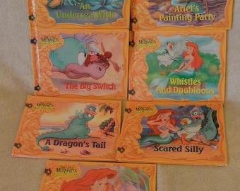 Little Mermaid's Treasure Chest Book Set