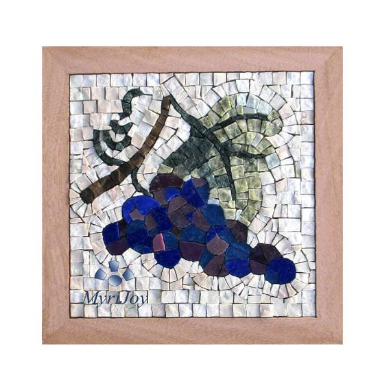 Mosaic wall art kit fall 9x9 diy mosaics tiles craft adults do mosaic wall art kit fall 9x9 diy mosaics tiles craft adults do it yourself art project gift ideas for women feng shui abundance art from myrijoy on solutioingenieria Images