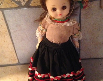 Small Mexico Foreign Friends Doll by Ganda Toys