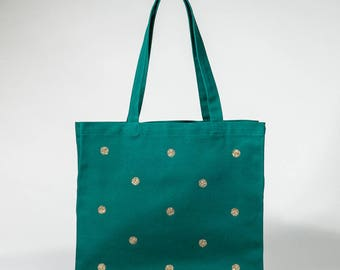 Green Gold Tote