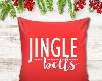 Christmas Pillow Cover - Jingle Bells